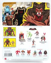 """Masters of the Universe - Unleashed Grizzlor Déchainé \""""brown\"""" (carte USA) - Barbarossa Art"""