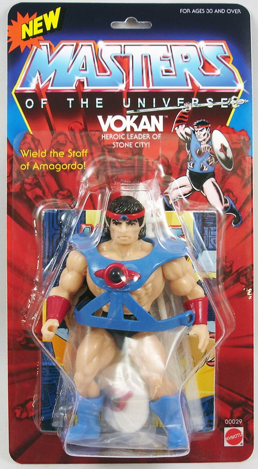 Masters of the Universe - Vokan (carte USA) - Barbarossa Art