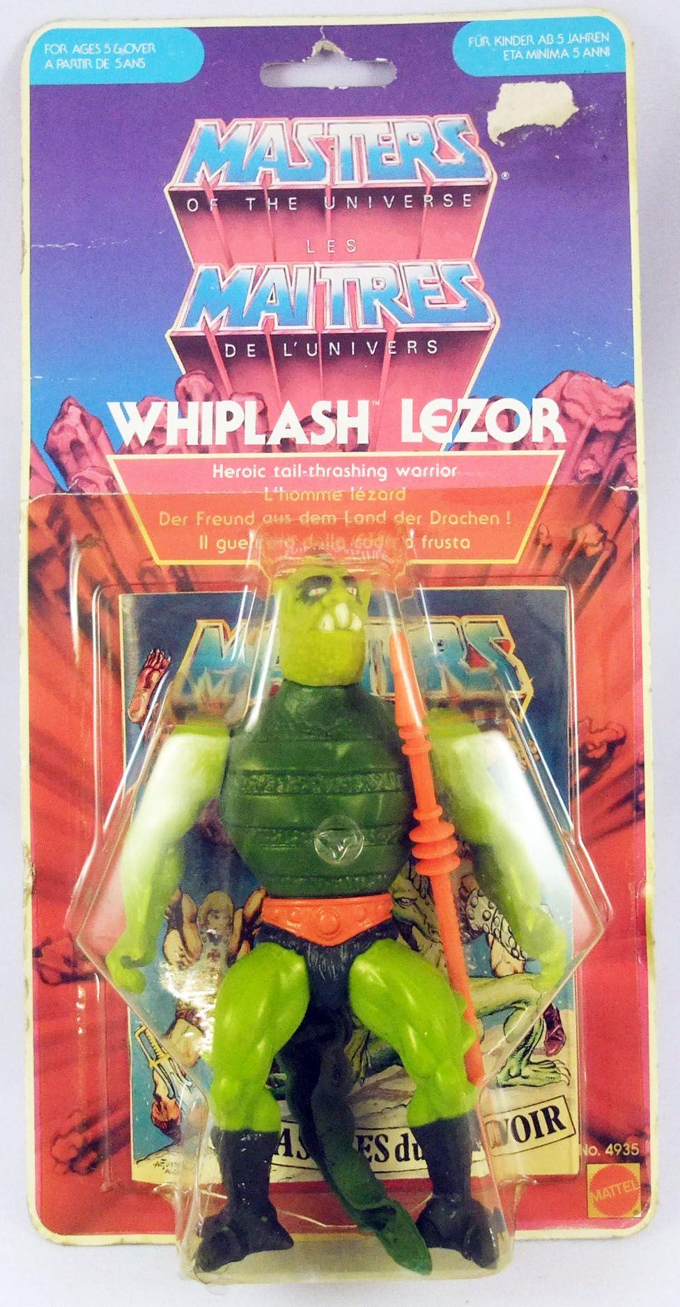 Masters of the Universe - Whiplash / Lezor (carte Yellow Border)