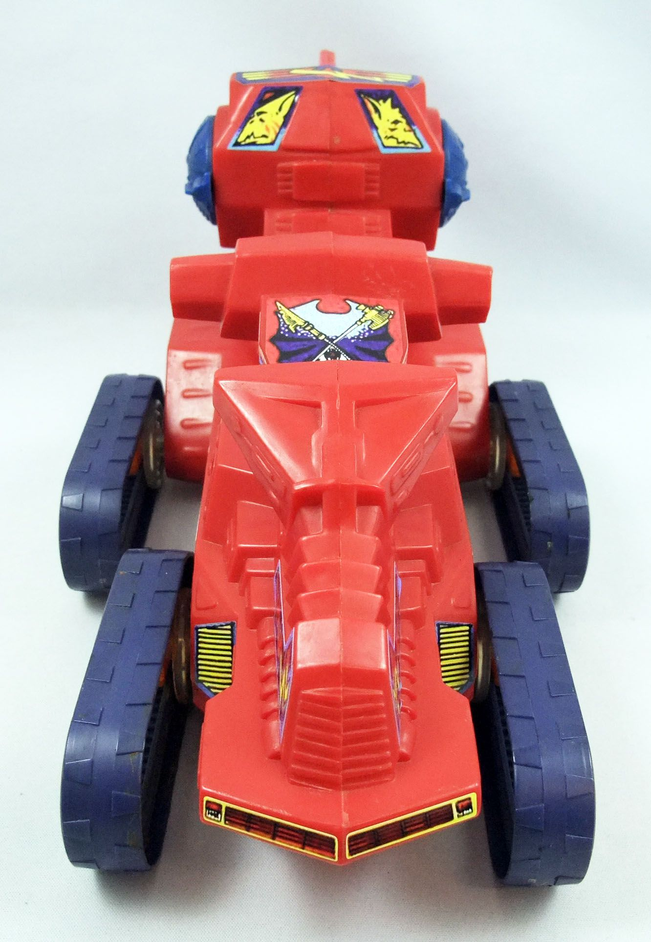 """Masters of the Universe (loose) - Attak-Trak / Char-Tout-Terrain \""""rouge\"""""""