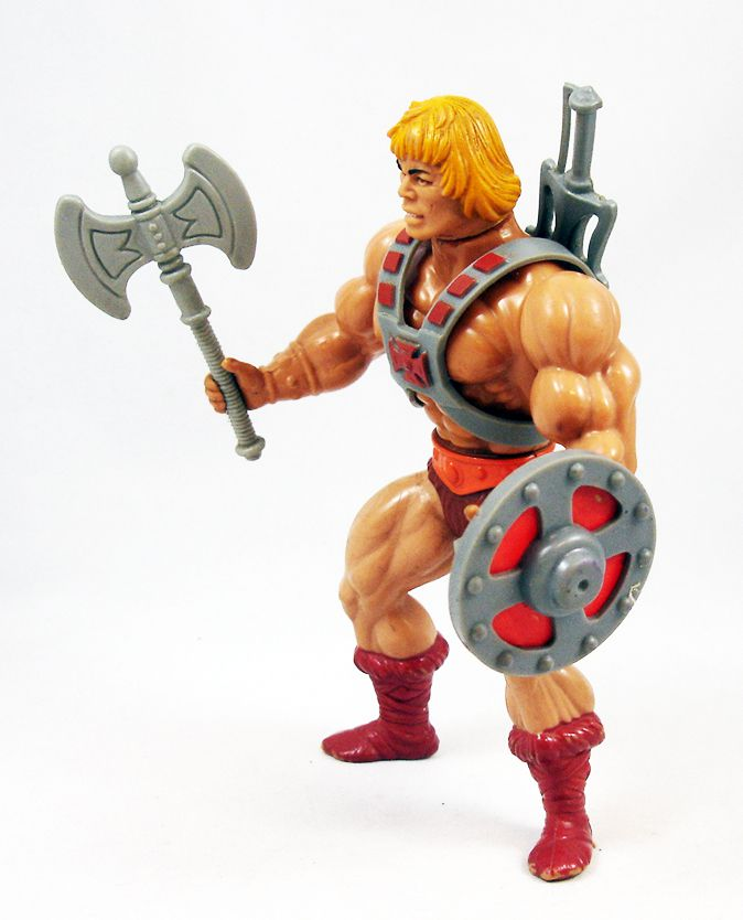 Masters of the Universe (loose) - He-Man / Musclor