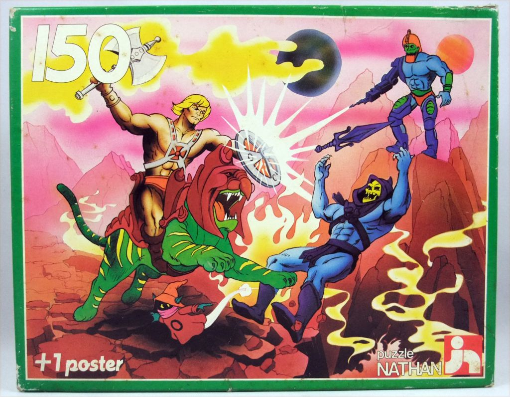 Masters of the Universe 150 pieces jigsaw puzzle - \'\'He-Man versus Skeletor\'\' - Nathan France