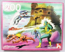 Masters of the Universe 200 pieces jigsaw puzzle - \'\'Defending Castle Grayskull\'\' - Nathan France