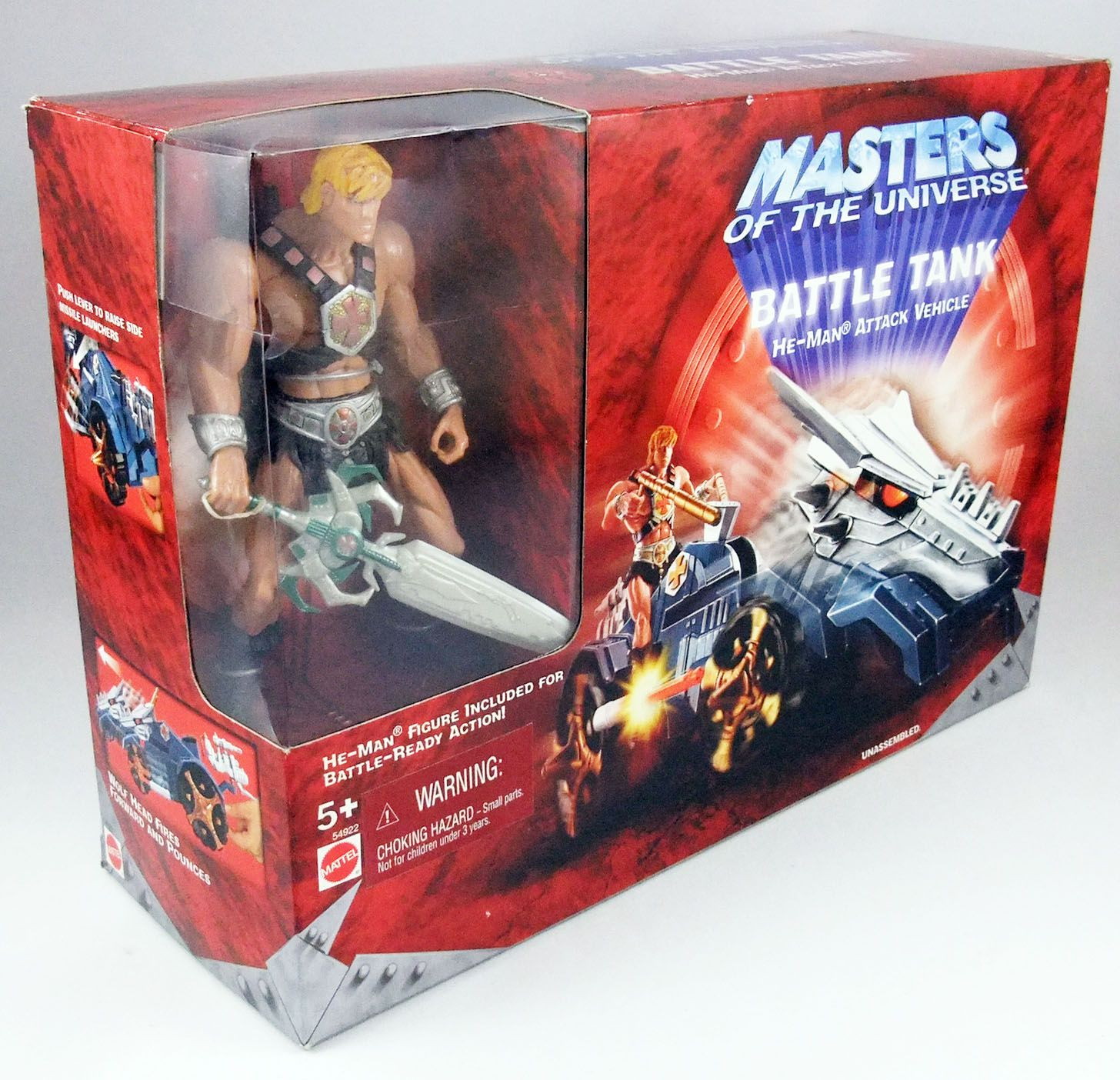 Masters of the Universe 200X - Battle Tank & He-Man