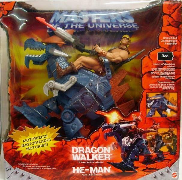 Masters of the Universe 200X - Dragon Walker & He-Man (no tatoo)