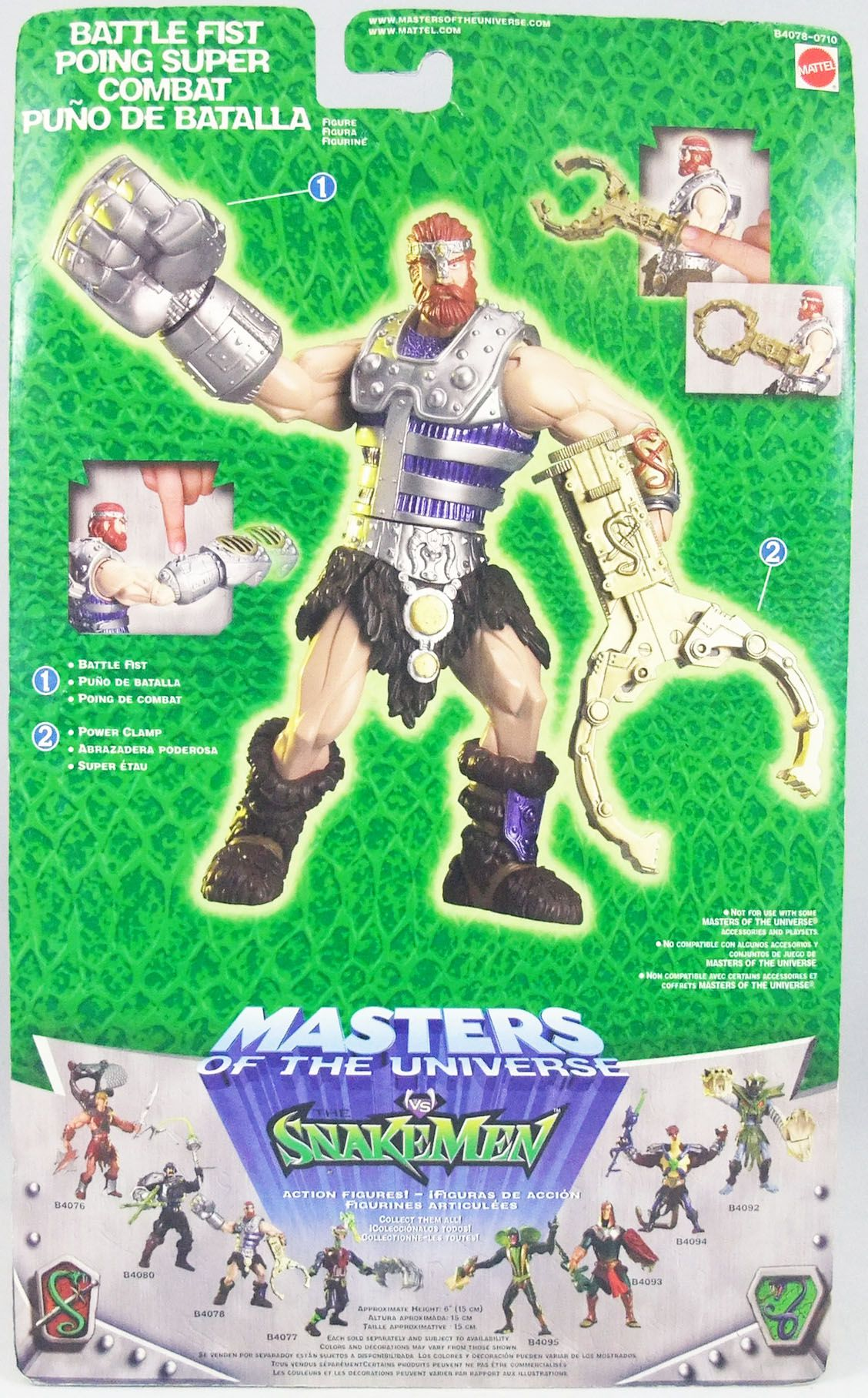"Masters of the Universe 200X - Fisto \""Battle Fist\"""