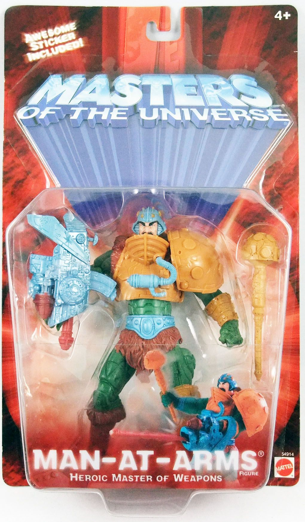 Masters of the Universe 200X - Man-At-Arms
