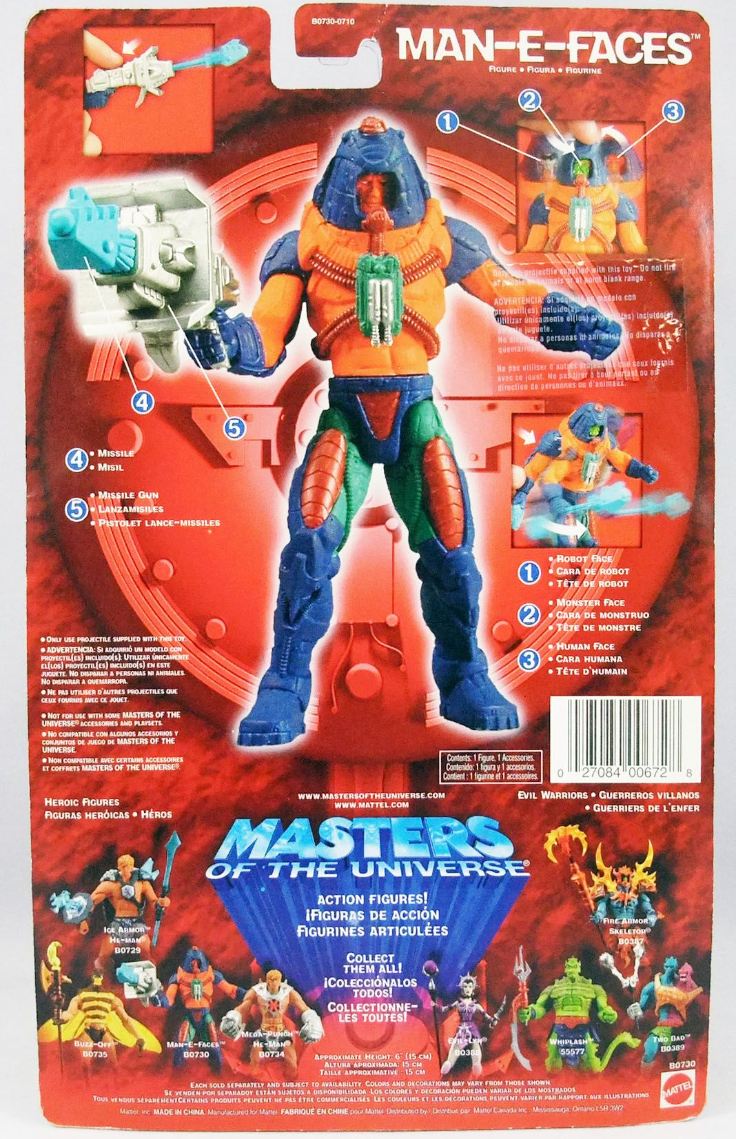 Masters of the Universe 200X - Man-E-Faces