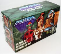 Masters of the Universe 200X - Micro-Bustes 3-pack : Mekaneck, Teela & Man-At-Arms (SDCC Exclusive)