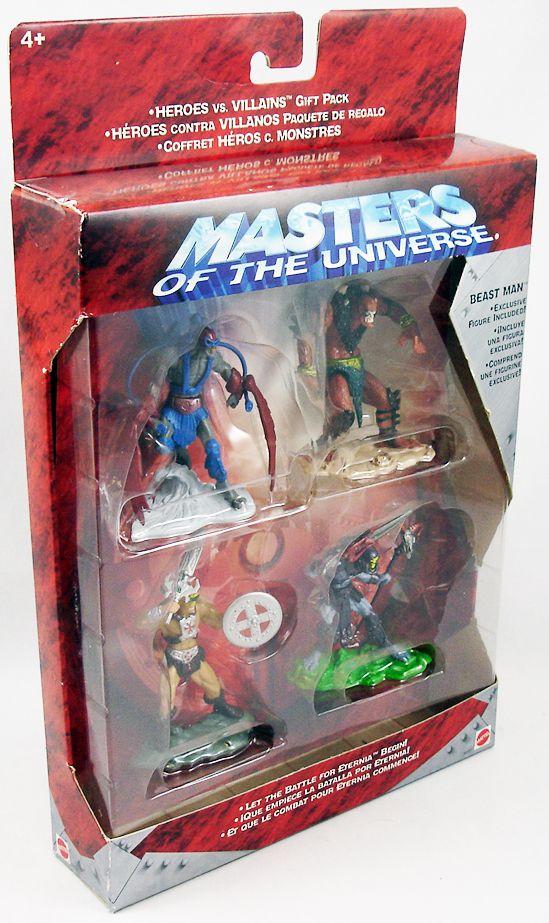 Masters of the Universe 200X - Mini-figurine 4-pack : He-Man, Skeletor, Stratos & Beast-Man