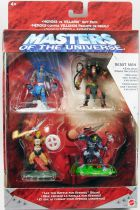 Masters of the Universe 200X - Mini-figurine 4-pack : He-Man, Skeletor, Stratos & Beast-Man