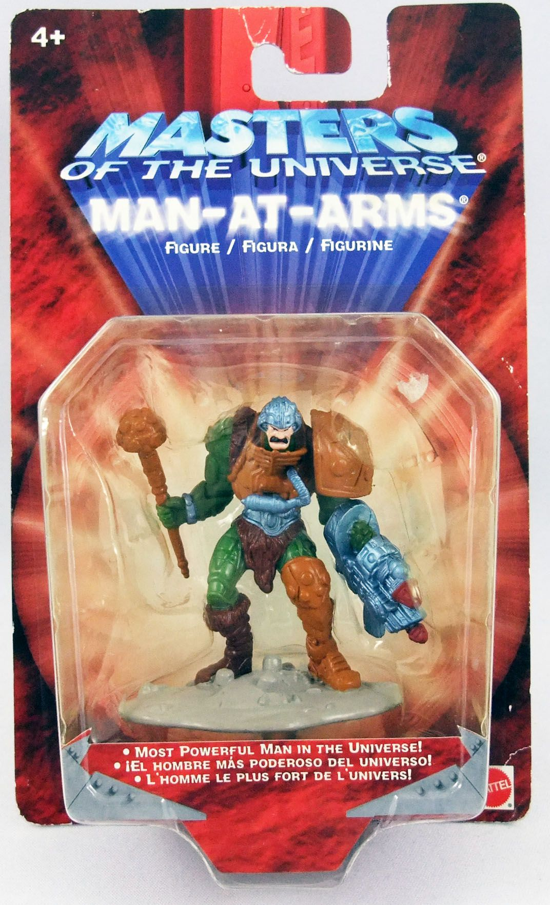 Masters of the Universe 200X - Mini-figurine Man-At-Arms