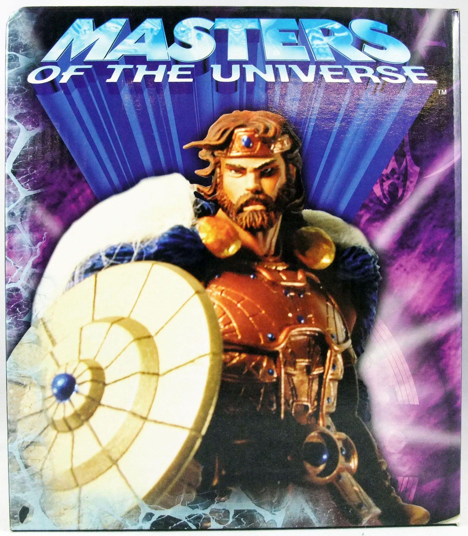 "Masters of the Universe 200X - Mini-Statue King Randor \""Classic Colors Edition\"""