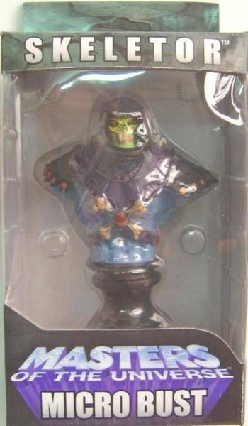 Masters of the Universe 200X - Skeletor Micro-bust