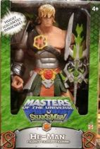 Masters of the Universe 200X - Snake Armor He-man 12\'\' Rotocast figure