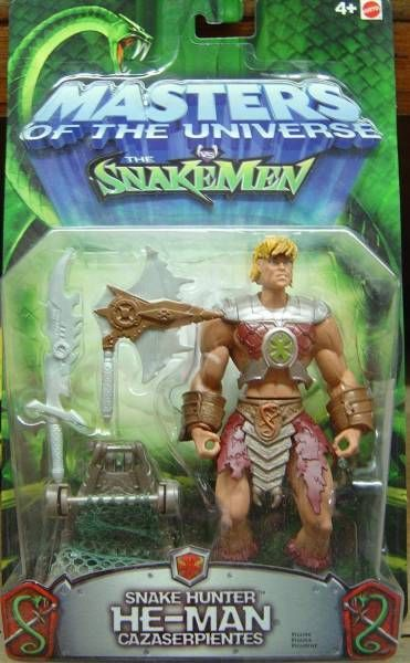 Masters of the Universe 200X - Snake Hunter He-Man