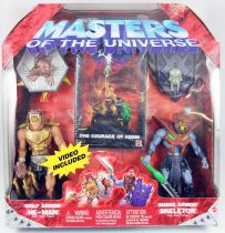 Masters of the Universe 200X - Wolf Armor He-Man & Snake Armor Skeletor