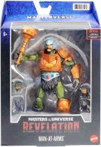 Masters of the Universe Masterverse - Revelation Man-At-Arms