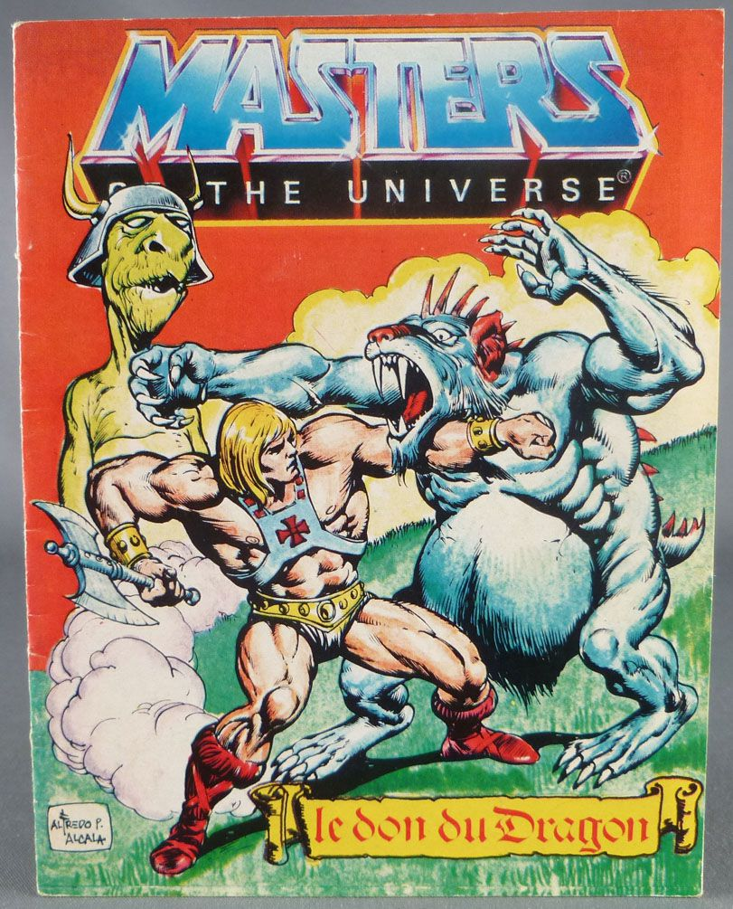 Masters of the Universe Mini-comic - Dragon\'s Gift (french)
