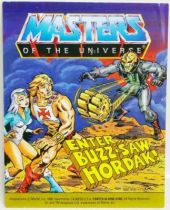Masters of the Universe Mini-comic - Enter... Buzz-Saw Hordak! (english)