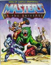 Masters of the Universe Mini-comic - King of Castle Grayskull (german-italian)