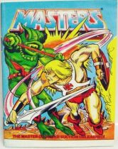 Masters of the Universe Mini-comic - Leech, the Master of Power Suction Unleashed! (english-french-german-italian)