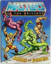Masters of the Universe Mini-comic - Masks of Power (english-french)