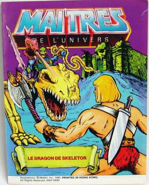 Masters of the Universe Mini-comic - Skeletor\'s Dragon (english-french)