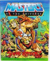 Masters of the Universe Mini-comic - Snake Attack! (english)
