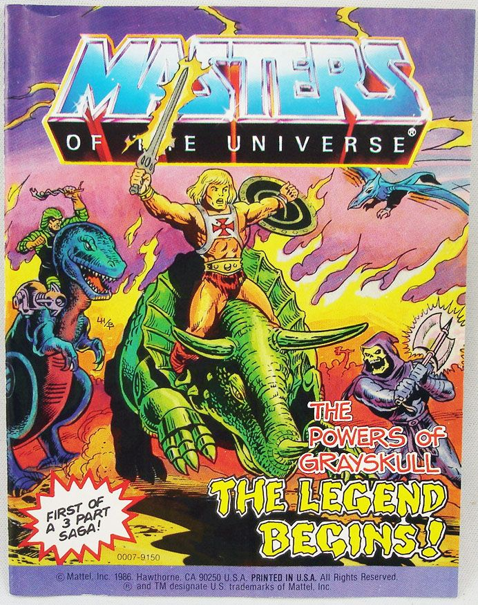 The Powers of Grayskull  The Legend Begins! (anglais)