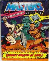 Masters of the Universe Mini-comic - The Secret Liquid of Life (english)