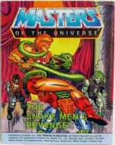 Masters of the Universe Mini-comic - The Snake Men\'s Revenge (english-french-german-italian)