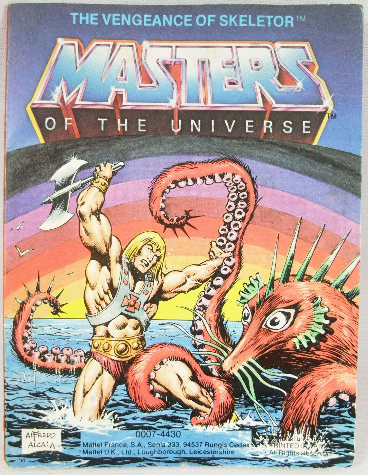 Masters of the Universe Mini-comic - The Vengeance of Skeletor (english-french)