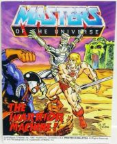 Masters of the Universe Mini-comic - The Warrior Machine! (english)
