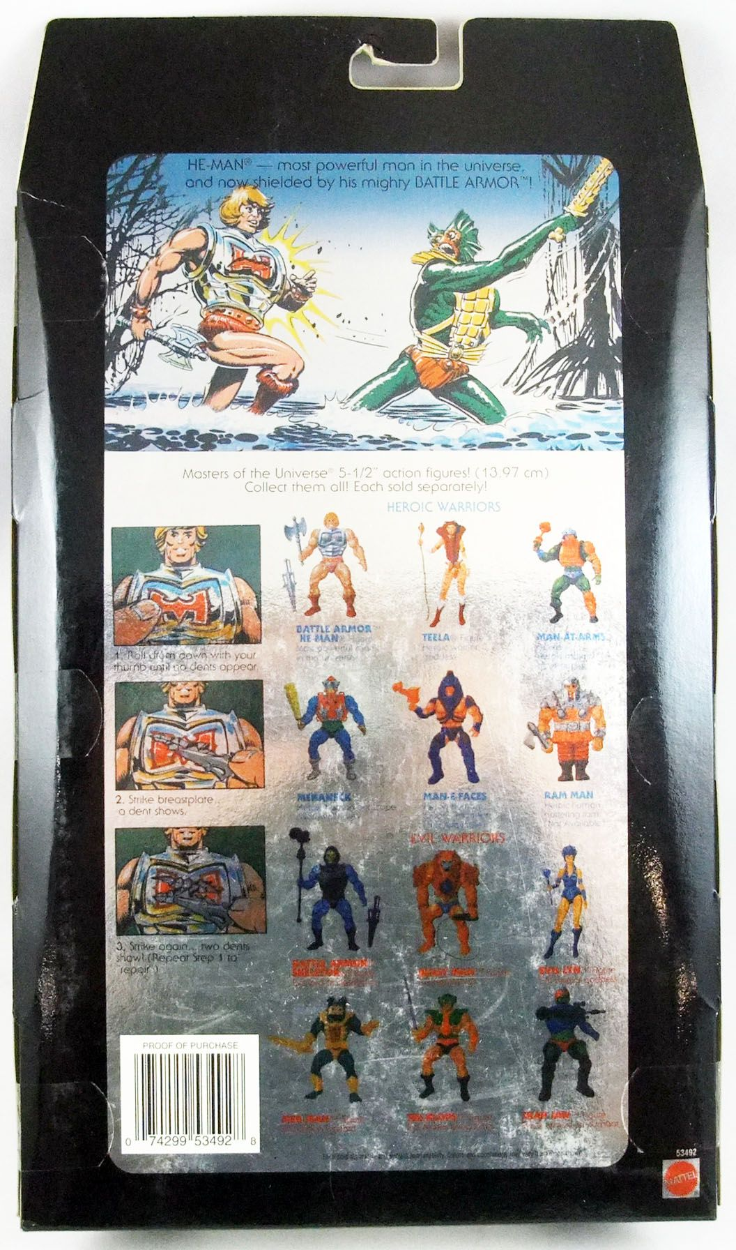 Masters of the Universe MOTU Commemorative Series - Battle Armor He-Man