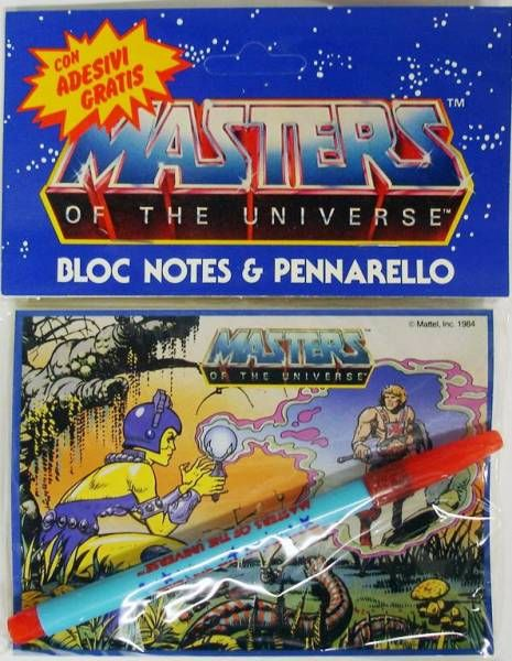 Masters of the Universe Notepad (Evil-Lyn)