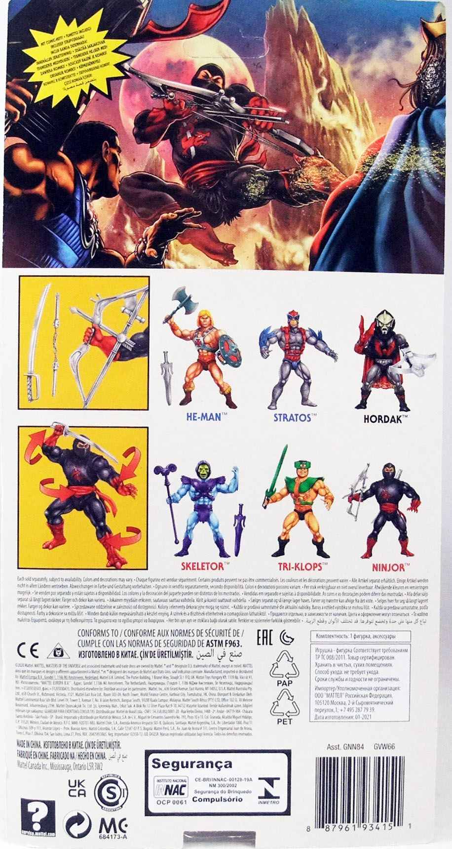 Masters of the Universe Origins - Ninjor