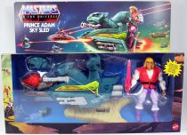 Masters of the Universe Origins - Prince Adam & Sky Sled