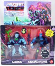 Masters of the Universe Origins - Rise of Evil : Keldor & Kronis