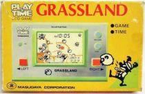 Masudaya (Play & Time) - Handheld Game - Grassland (loose avec boite)