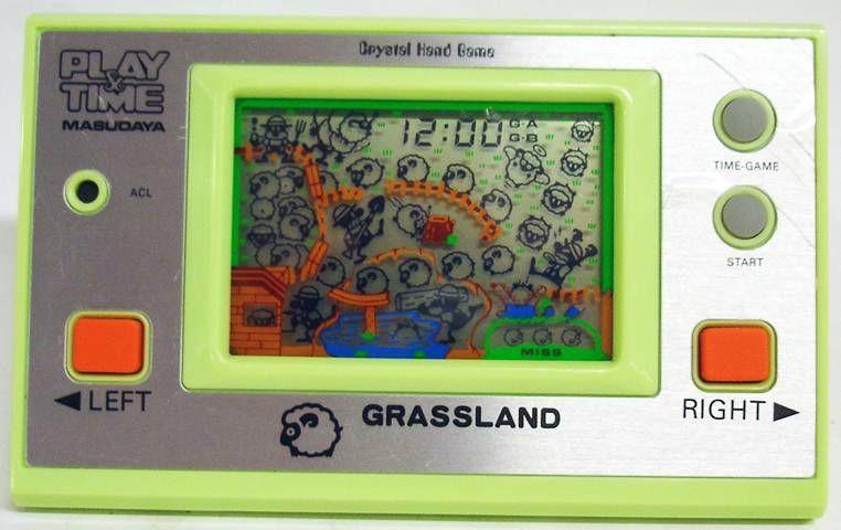 Masudaya (Play & Time) - Handheld Game - Grassland (occasion en boite)
