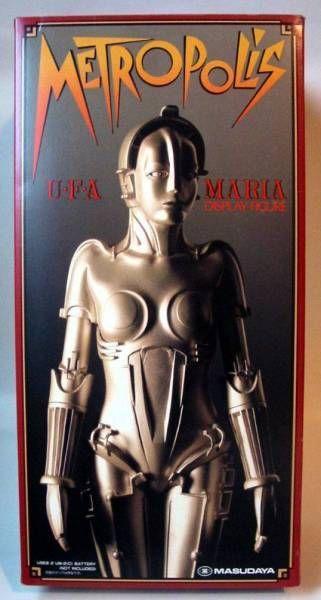 Masudaya Metropolis Maria vinyl kit