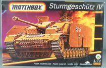 Matchbox 40180 WW2 Char Allemand Sturmgeschütz IV 1/72°Maquette Plastique Neuf Boite