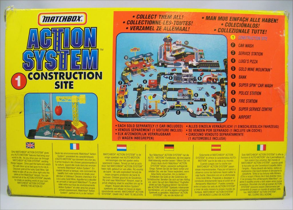 Matchbox Action System 1996 - #1 Construction Site 03