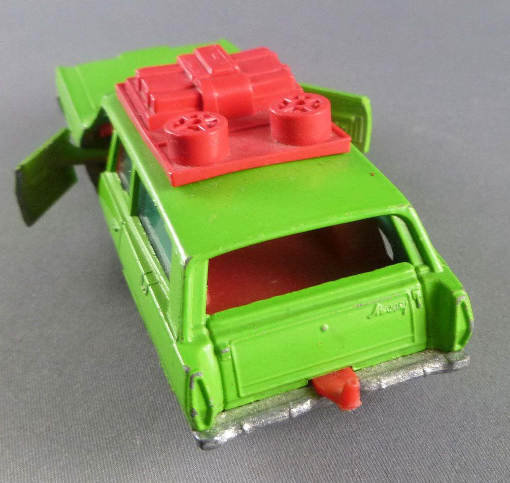 Matchbox Speed King K-23 Mercury Commuter Break Vert avec bagages
