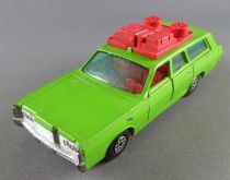 Matchbox Speed King K-23 Mercury Commuter Green Station Wagon with lugages
