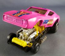 Matchbox Speed King K-38 Ford Mustang Gus\'s Gulper Pink Dragster