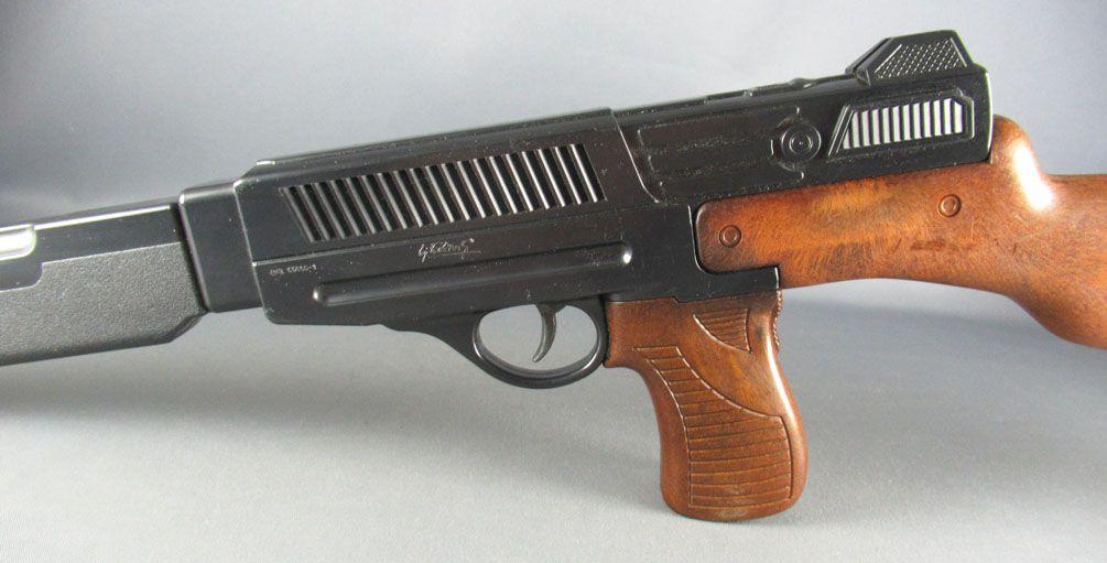 Matic 45 Caps Machine Gun - Edison Giocattoli Ref # 365- Very Good in Box