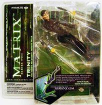Matrix Reloaded - Trinity Mint on card McFarlane series 2 Action figure