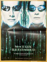 Matrix Reloaded (Sélection Officielle Festival Canne) - Affiche 40x60cm - Warner Bros. 2003